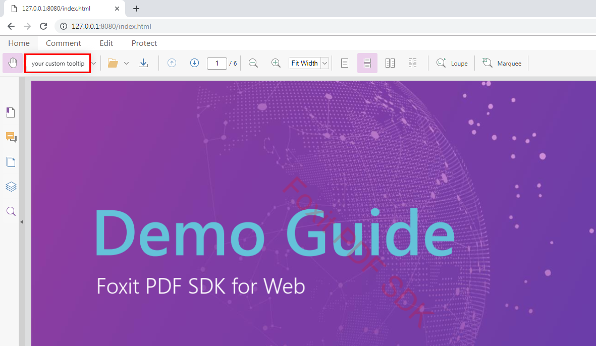 Developer Guide For Foxit Pdf Sdk For Web Foxit Developers