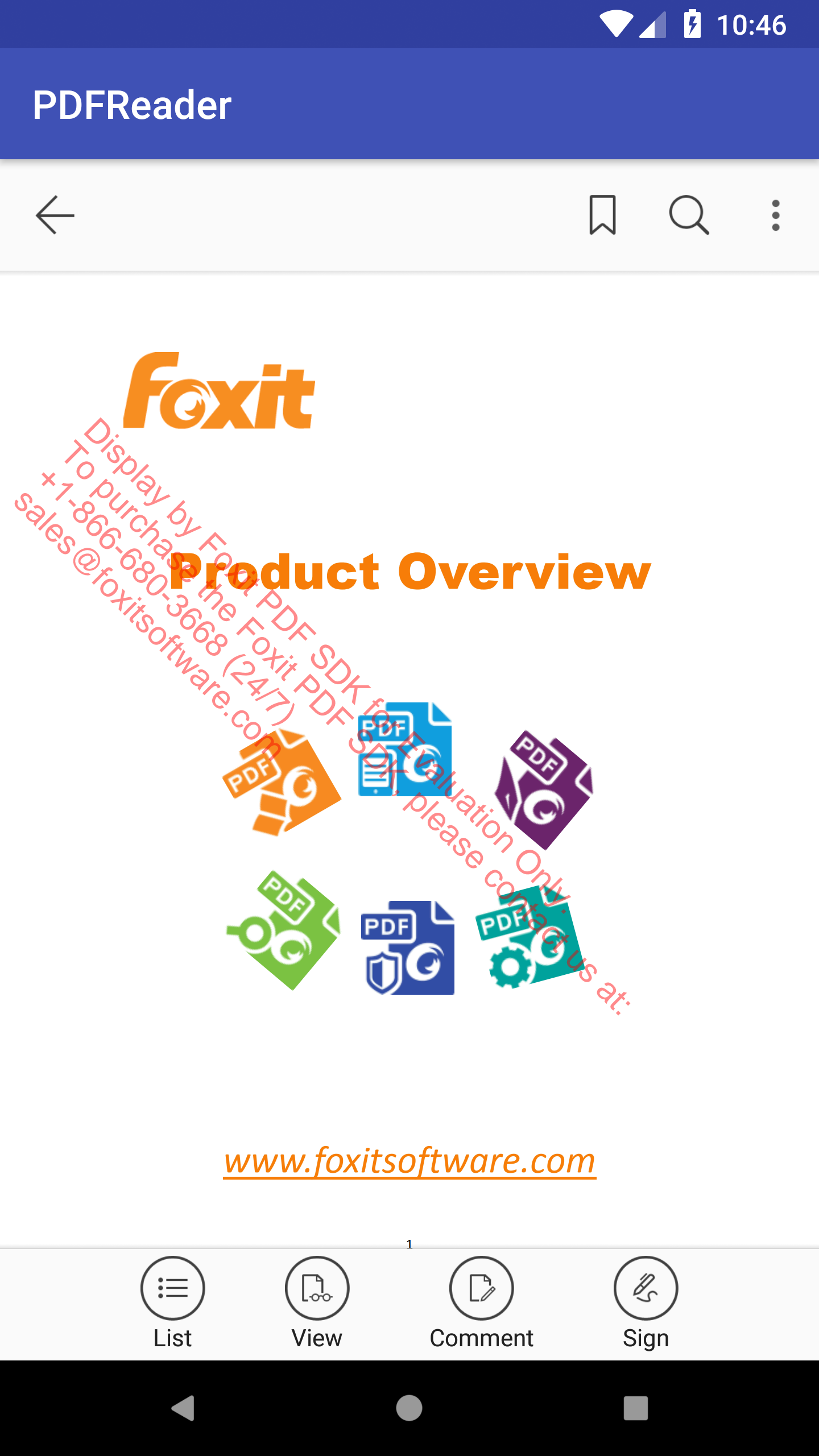 Developer Guide for Foxit PDF SDK for Android | Foxit