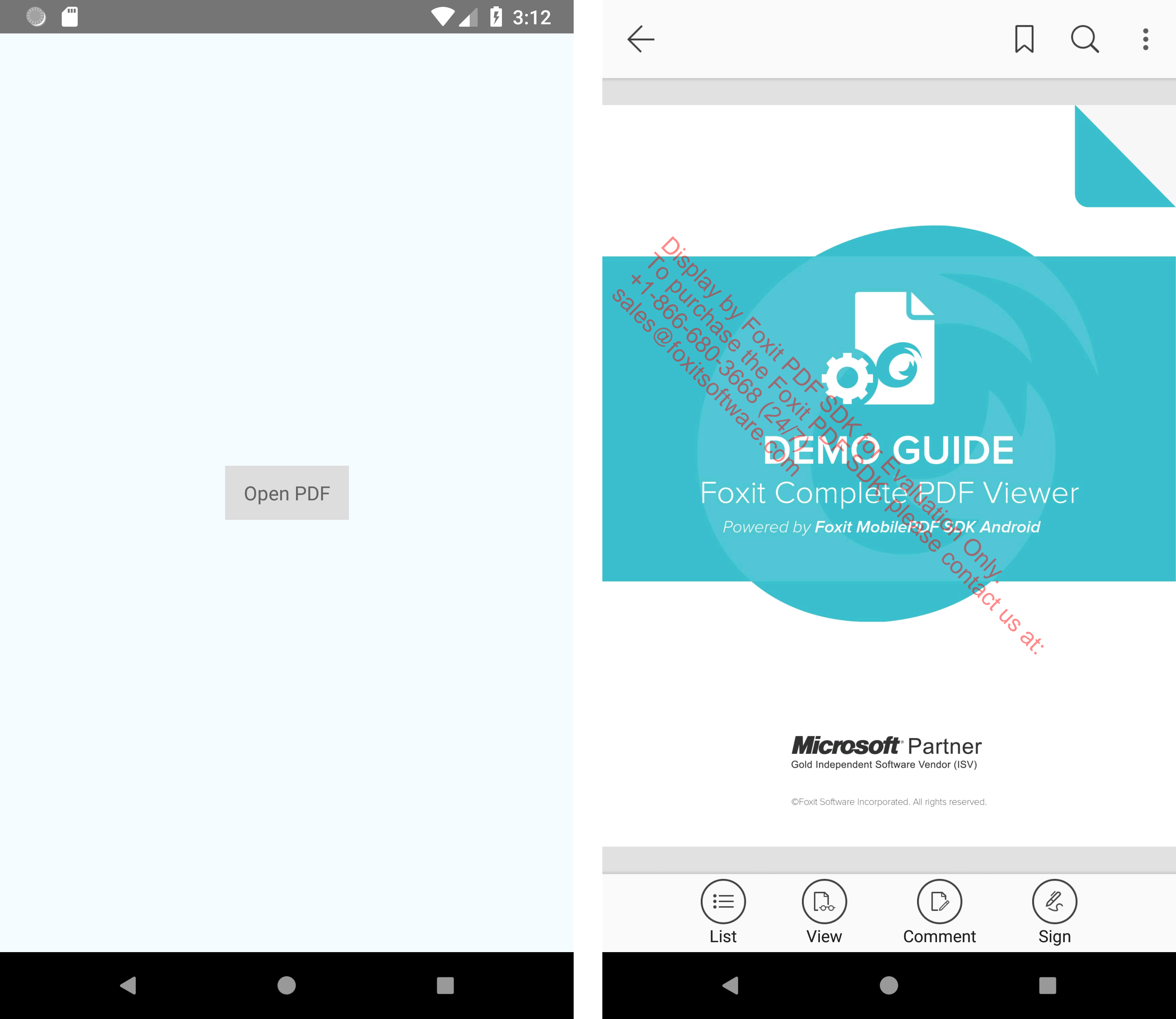 Developer Guide for Foxit PDF SDK for Android | Foxit Developer