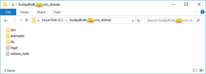 Developer Guide for Foxit PDF SDK ( NET)   Windows, Linux & Mac