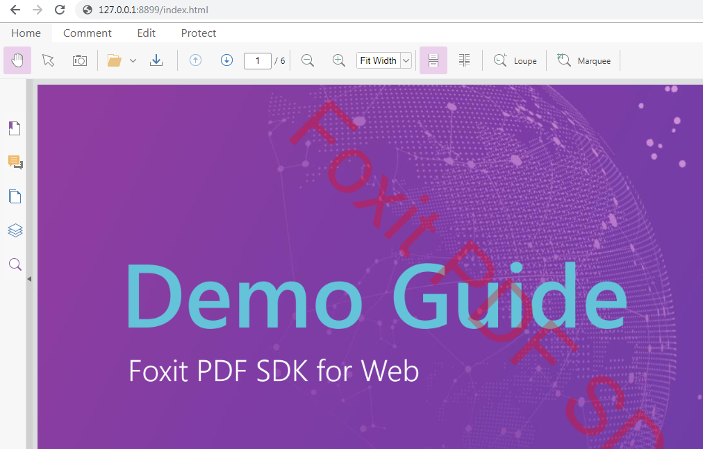 Developer Guide for Foxit PDF SDK for Web | Foxit Knowledge Base