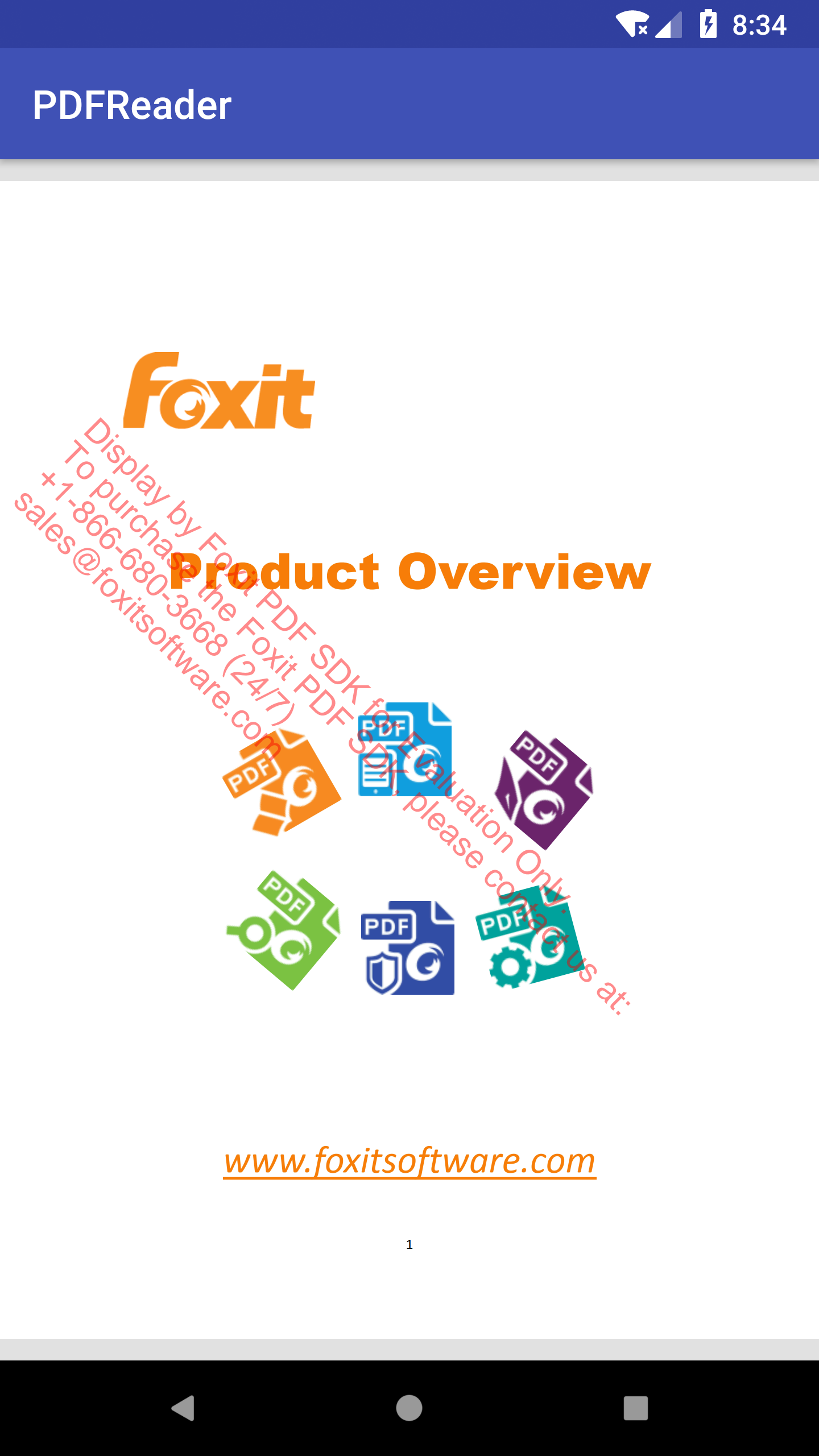 Developer Guide For Foxit Pdf Sdk Android How To Make A Kite Diagram Pictures 1 Apps Directories Now This Sample App Has Some Basic Features Such As Zooming In Out And Page Turning Just Have Try