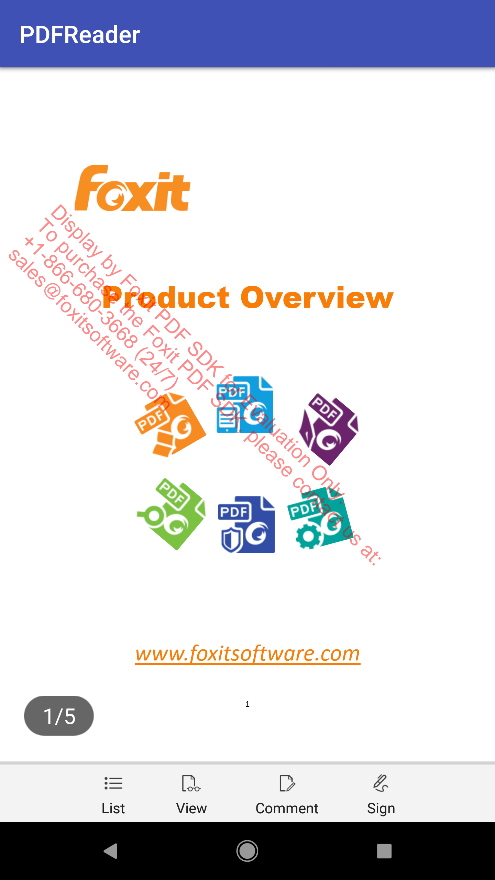 RootProject description