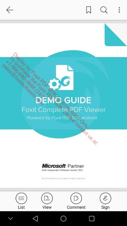 How to Implement Foxit PDF SDK for Android using Cordova Plugin