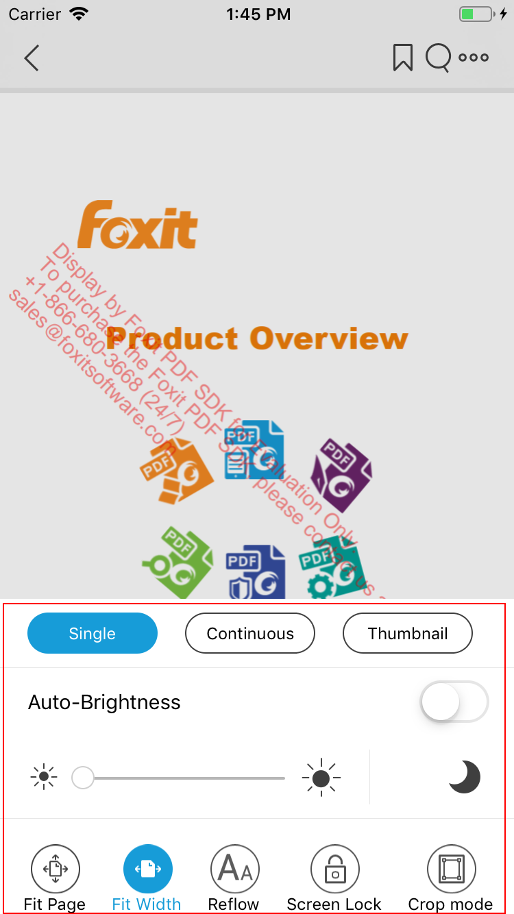 Developer Guide for Foxit PDF SDK for iOS | Foxit Developer
