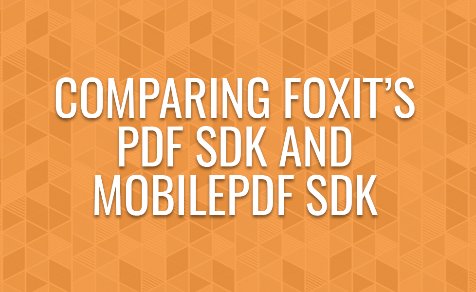 Comparing GSDK and RDK