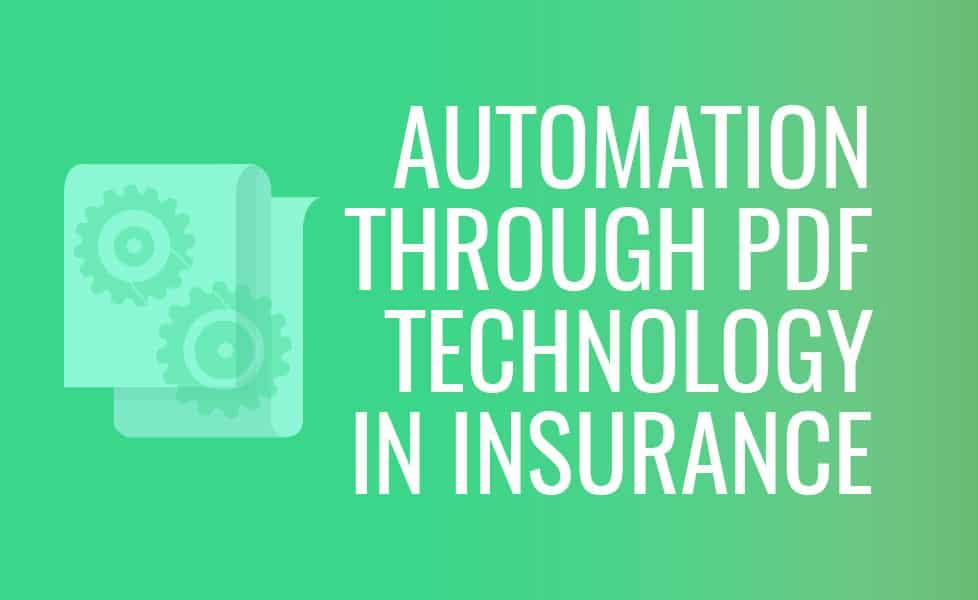 Automation through PDF