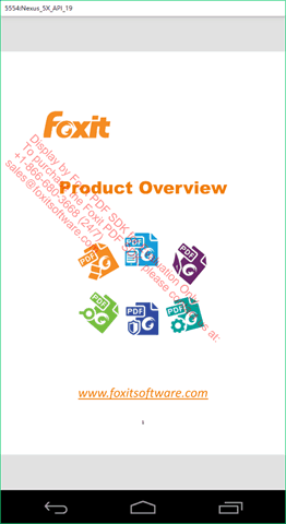 Product Overview MobilePDF SDK