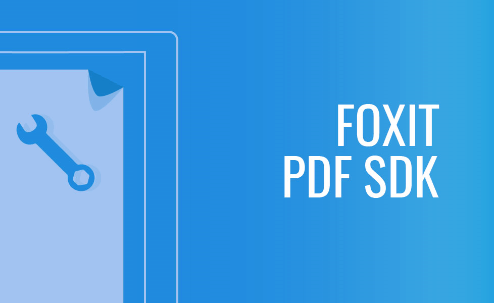 Foxit Pdf Sdk For Windows Foxit Developers Pdf Sdk Technology