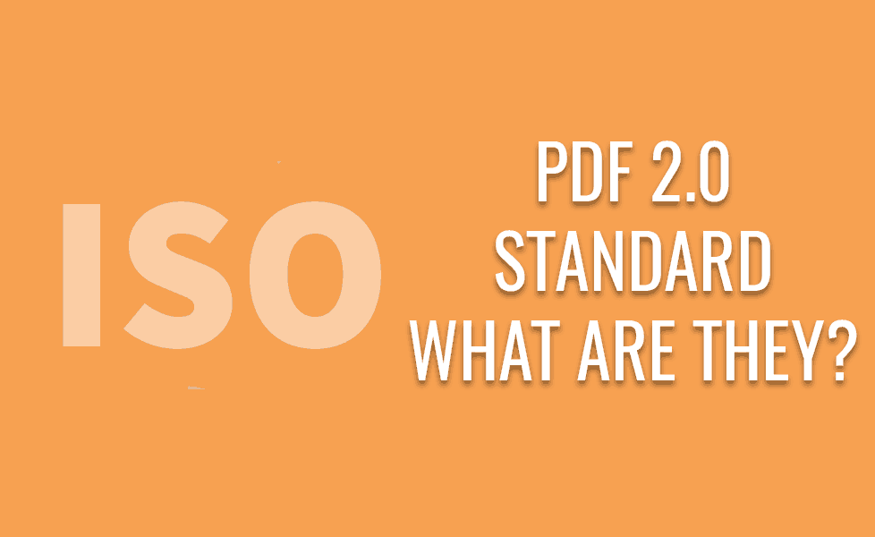 What is PDF 2.0?